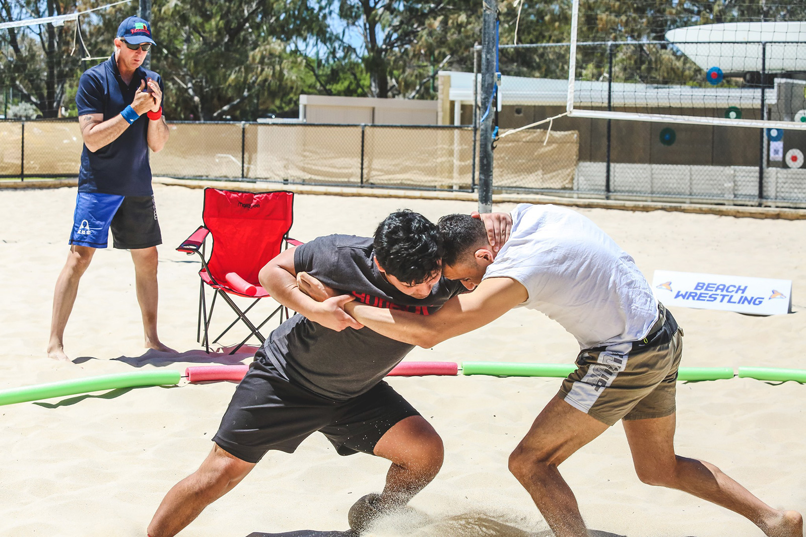 BASED Wrestling Beach Bash returns to Ozzy Indoor Beach volleyball! image